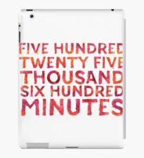 Five Hundred Minutes Sticker & T-Shirt - Gift For Love Season iPad-Hülle & Klebefolie