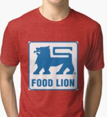 FOOD LION GROCERY STORE Tri-blend T-Shirt