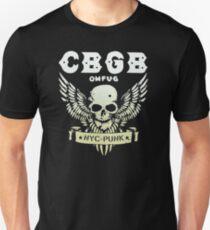 AMAZING RP18 Cbgb Skull Wings Best Trending Unisex T-Shirt