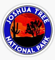 Joshua Tree National Park California Sticker