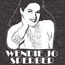 Wendie Jo Is My Homegirl (for dark items) by RobC13