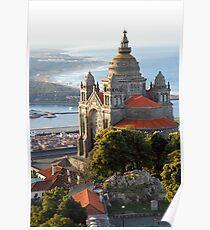Viana do Castelo, Santa Luzia (Portugal) Poster