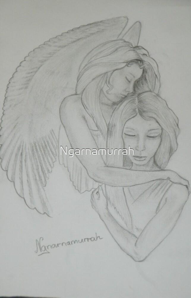 Angels by Ngarnamurrah