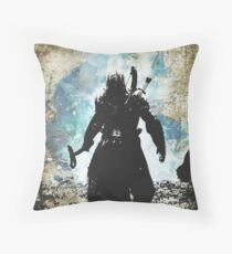 The Lover of Hounds Throw Pillow