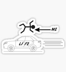 A Car Called Life Sticker