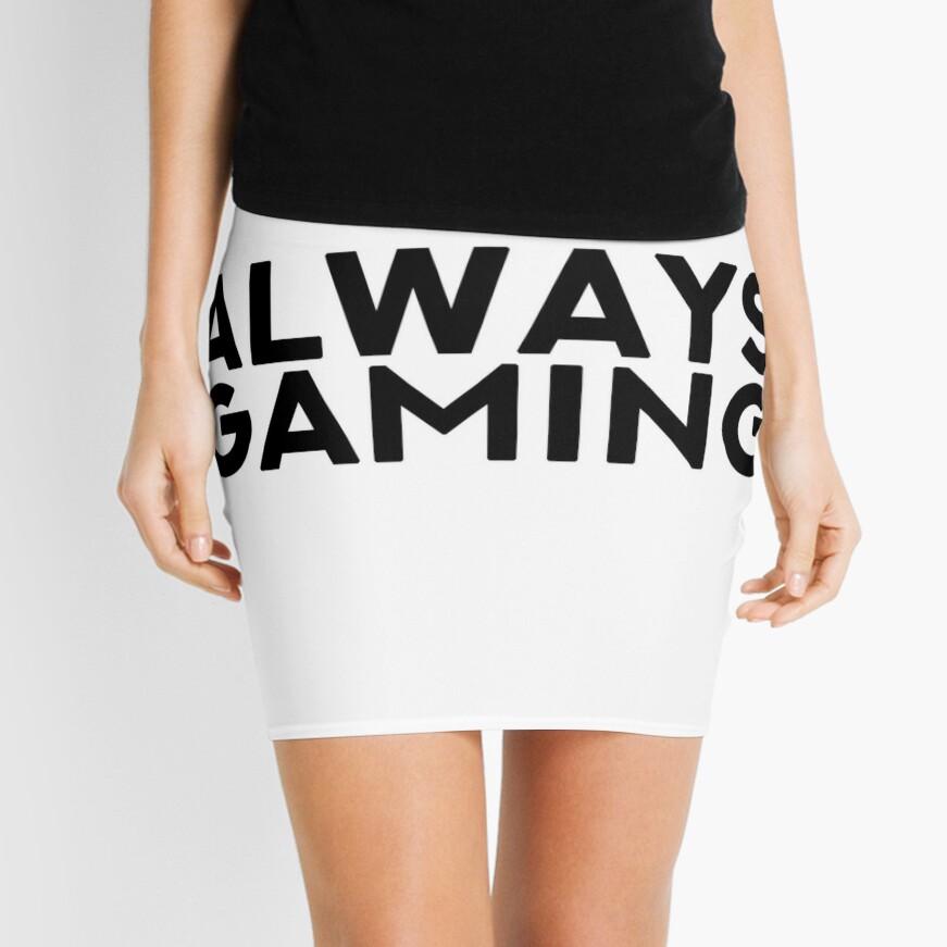 SIEMPRE GAMING Minifalda