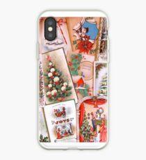 Vintage Weihnachtskarten 1 iPhone-Hülle & Cover