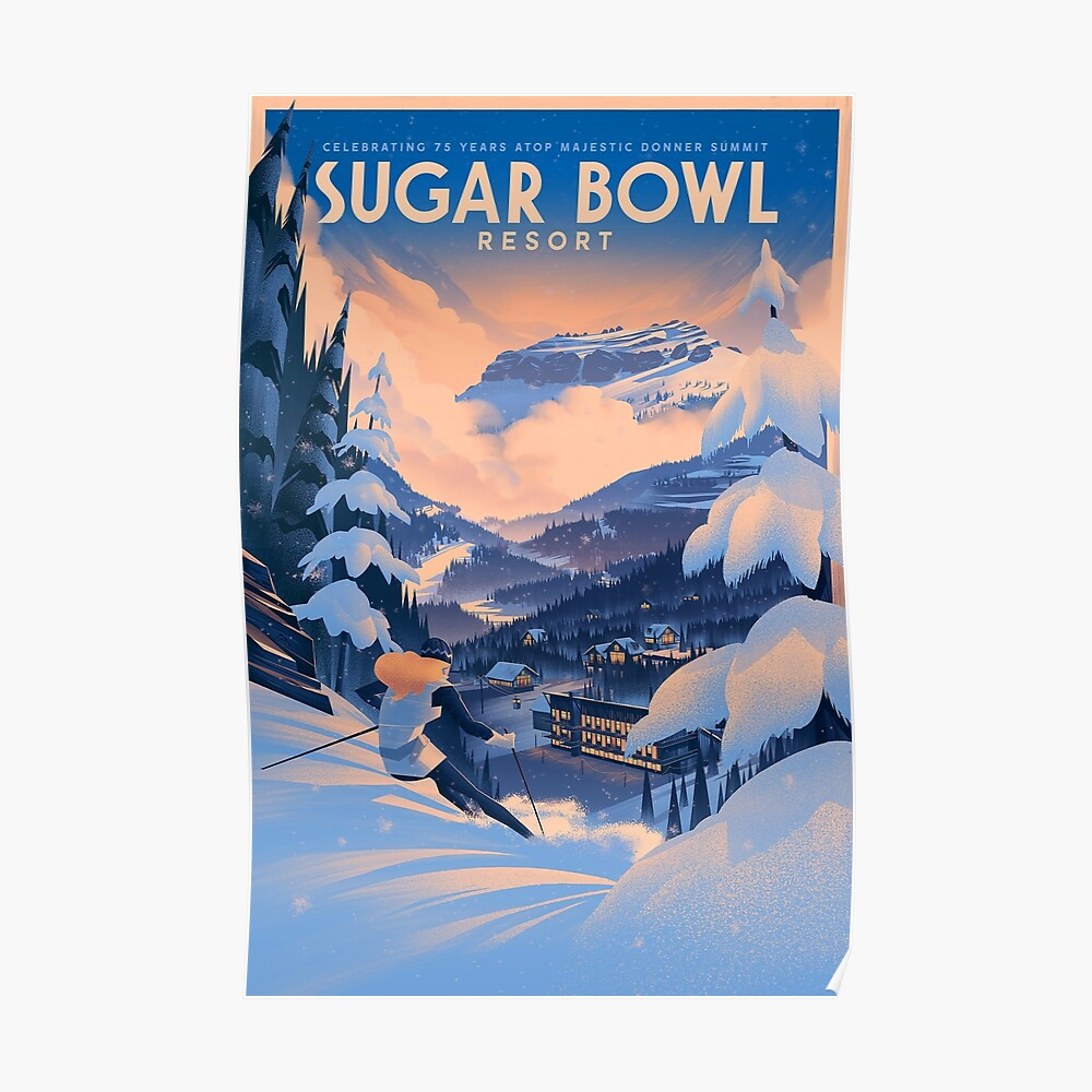 Zuckerdose, Ski Poster Poster