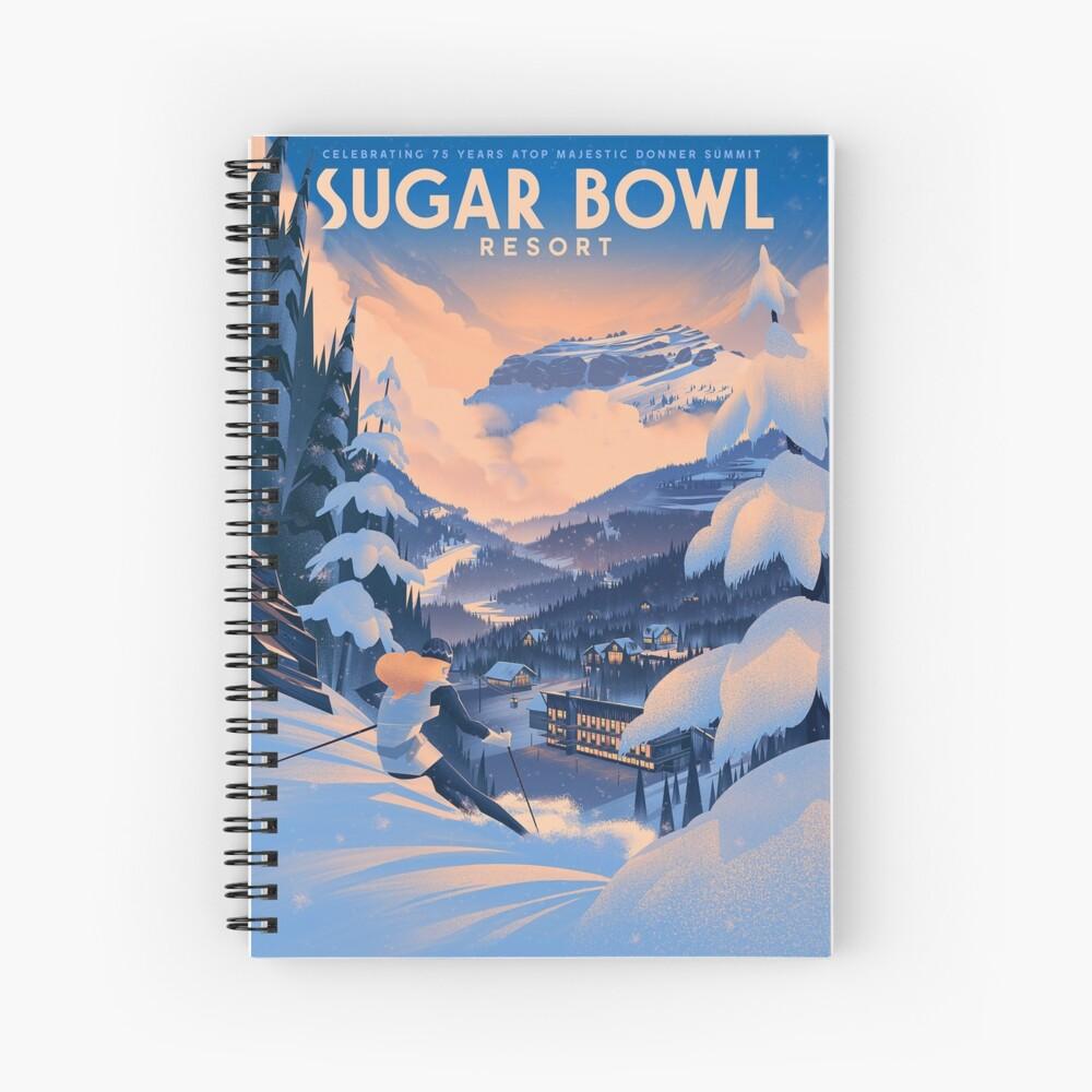 Zuckerdose, Ski Poster Spiralblock