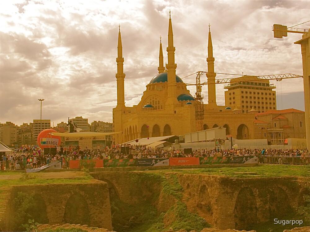 beirut mosque by Sugarpop