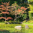 Heian Shrine Garden, Kyoto, Japan. by johnrf