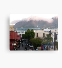 Downtown Capetown, South Africa Metal Print