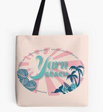 Yarn on the Beach Tote Bag