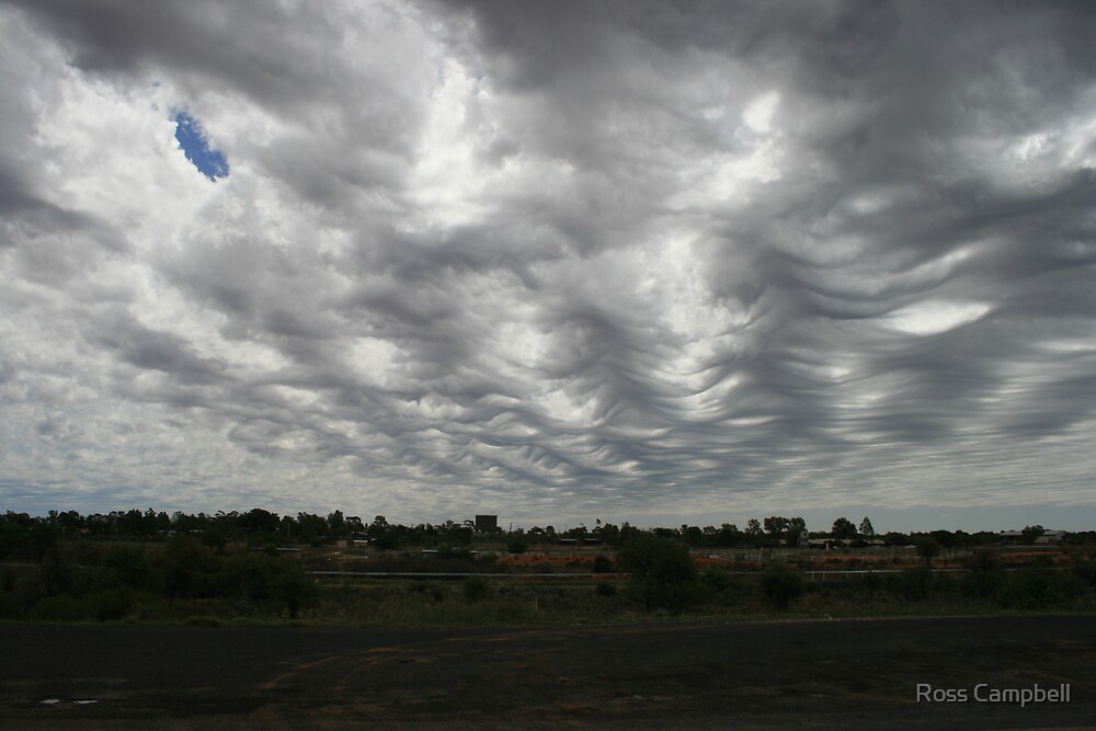 Clouds Near Cobar. by Ross Campbell
