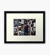 say you're alone Framed Print