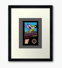 ExciteVespa Framed Print