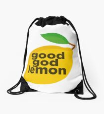 Good God Lemon Sticker & T-Shirt - Gift For TV Lover Drawstring Bag