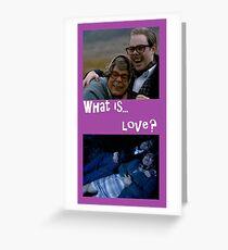 Tarjeta de felicitación Edward y Tubbs: ¿qué es el amor?