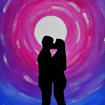 Lovers In Moonlight by IvysCraftShop