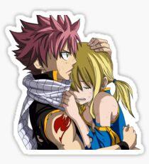 Lucy and Natsu Sticker