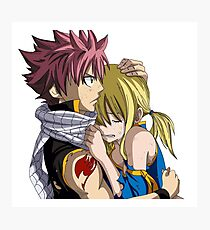 Lucy and Natsu Photographic Print