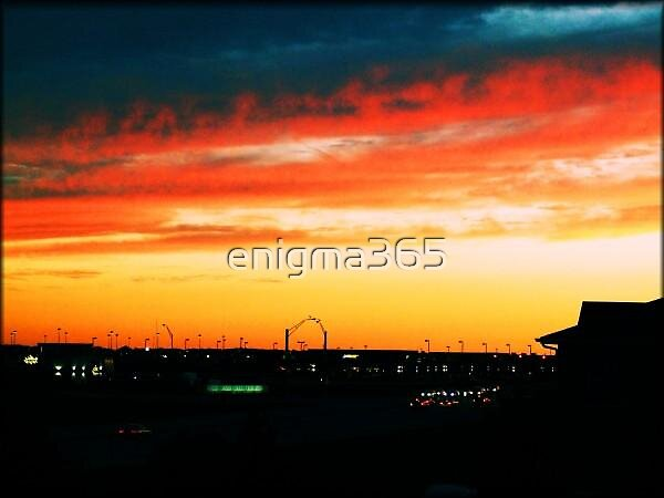 omaha Sunset by enigma365