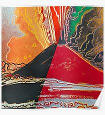 Andy Warhol - Vesuvius Poster