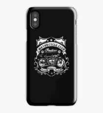 Indian Motorcycle Club - Retro Vintage iPhone Case/Skin