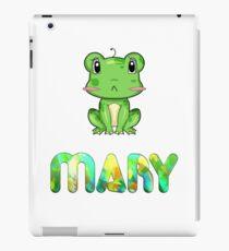 Mary Frog iPad Case/Skin