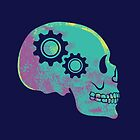 Neon Skull Gears by strangethingsA