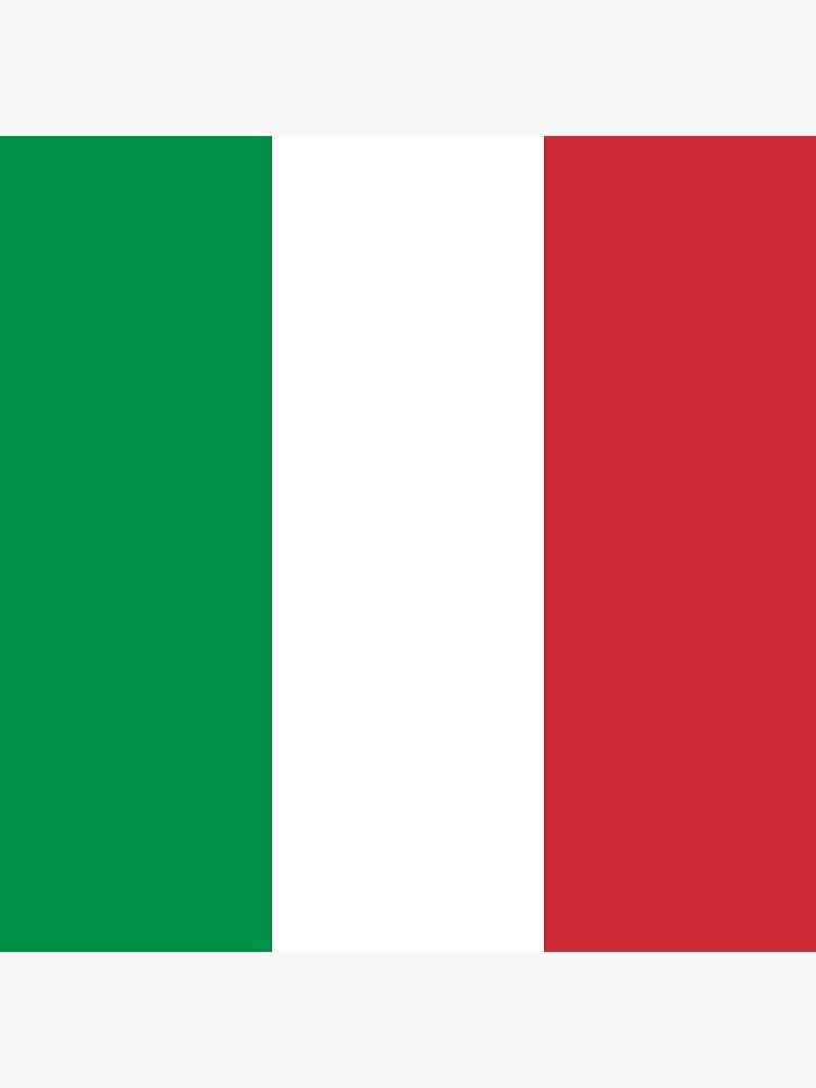Italienische Flagge von designseventy