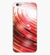 Yellow Black Red Circle on a White Background Abstract Art iPhone Case