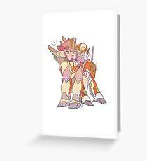 TFP Ratchet and Wheeljack Greeting Card