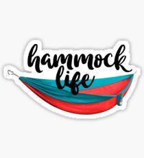Hammock Life Sticker & T-Shirt - Gift For Hiker Skiier Traveler Sticker