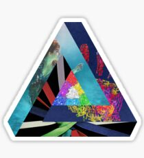 Penrose Triangle A & B Sticker