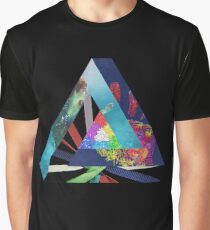 Penrose Triangle A & B Graphic T-Shirt