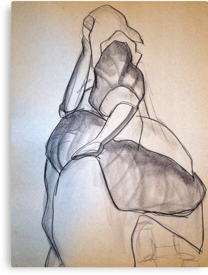 CLOTHED FIGURE DRAWING 3 by Tammera