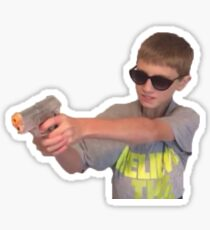 i won't hesitate, b*tch - vine sticker Sticker