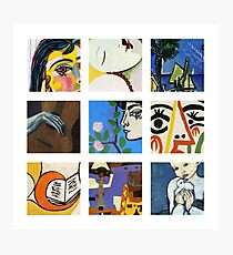 Picasso Kunstgitter Fotodruck