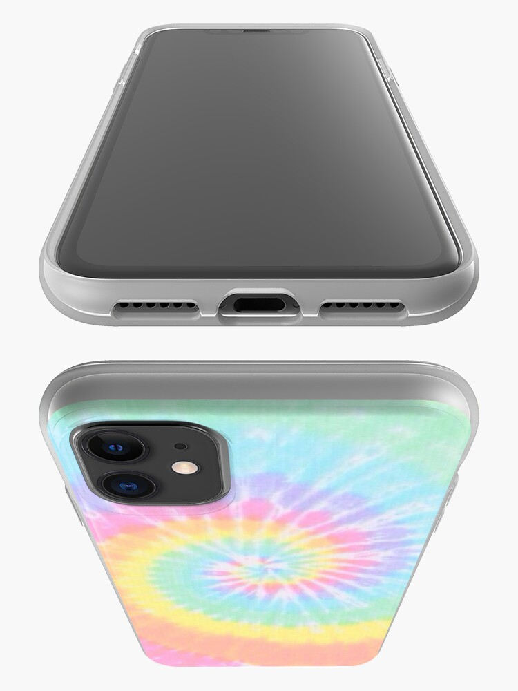 Alternate view of Rainbow tie dye iPhone Case & Cover