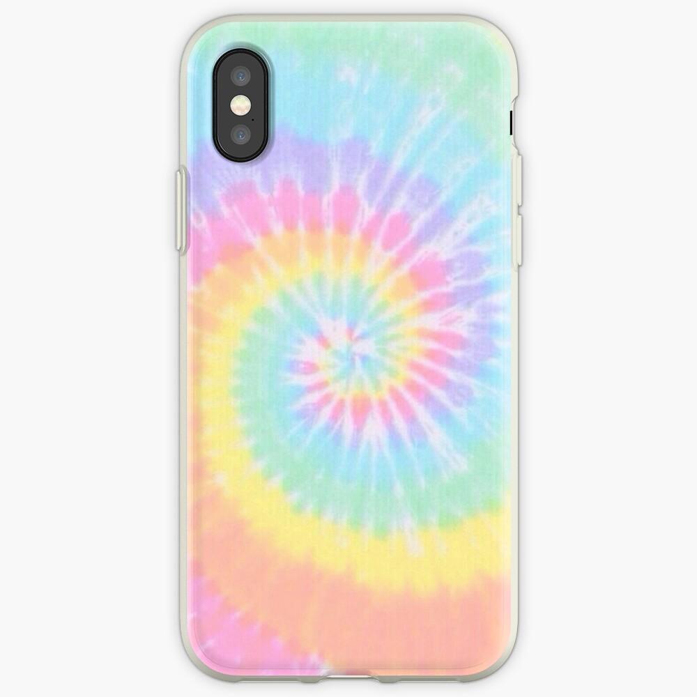 Rainbow tie dye iPhone Case & Cover