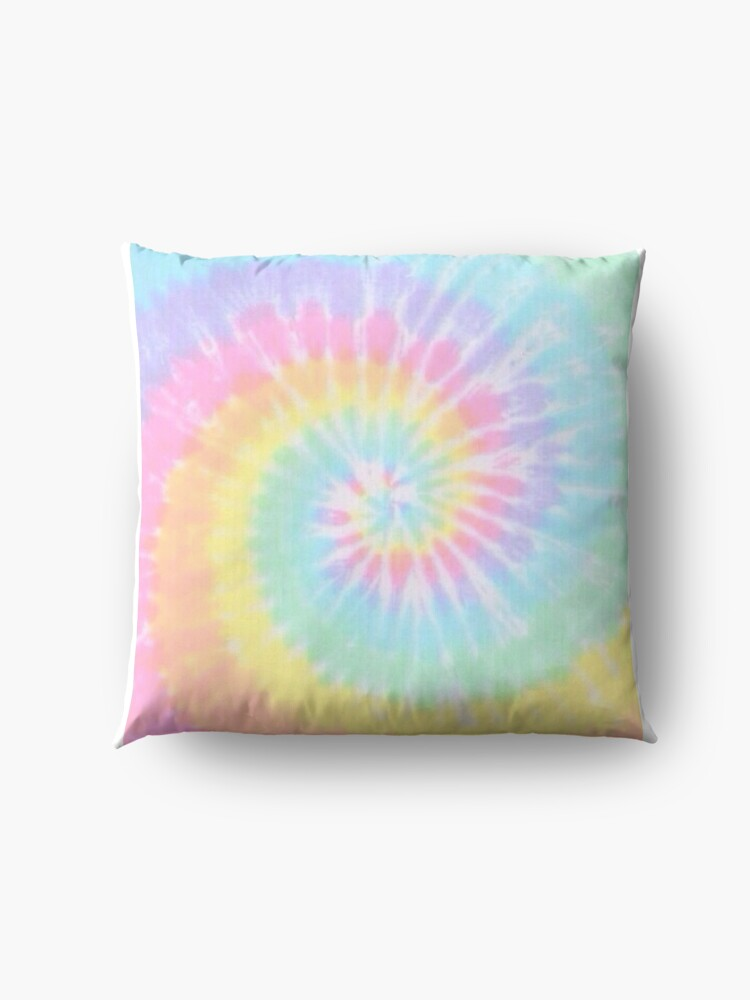 Alternate view of Rainbow tie dye Floor Pillow