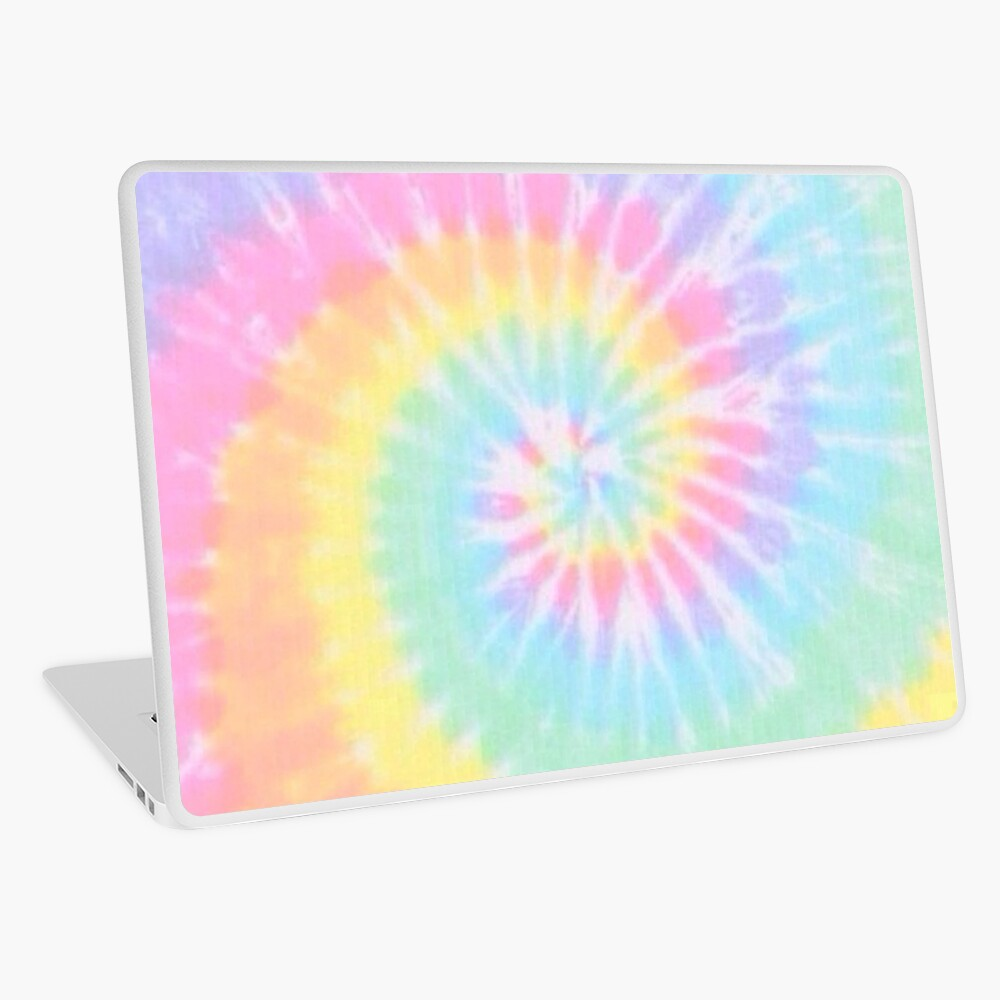 Rainbow tie dye Laptop Skin