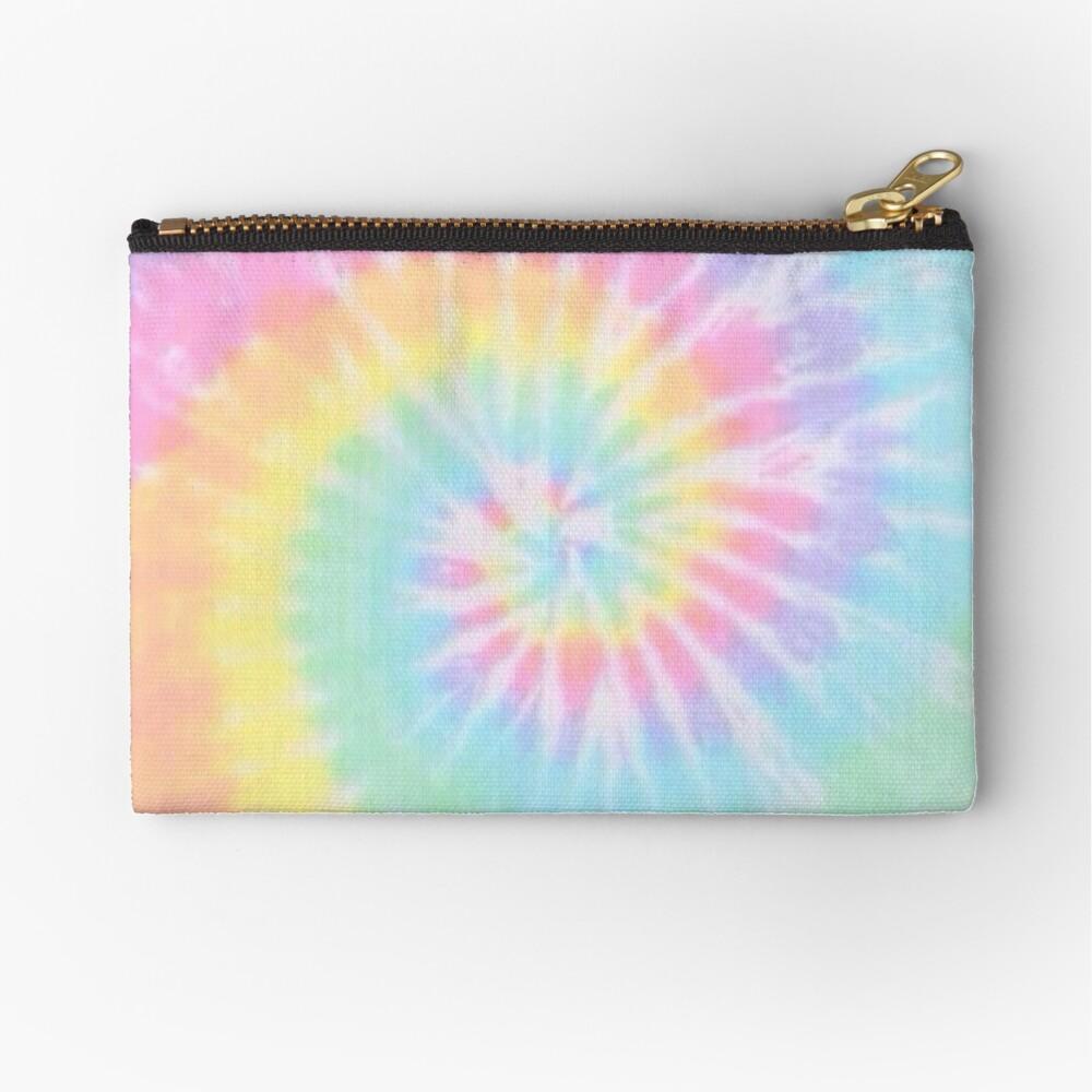 Rainbow tie dye Zipper Pouch