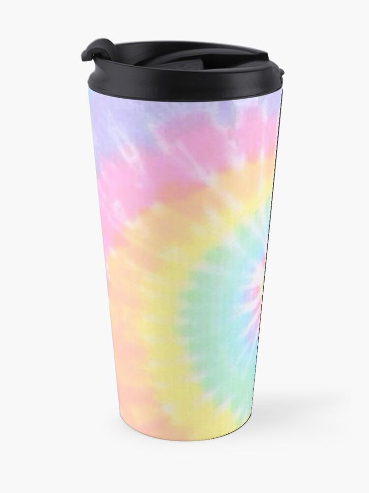 Alternate view of Rainbow tie dye Travel Mug