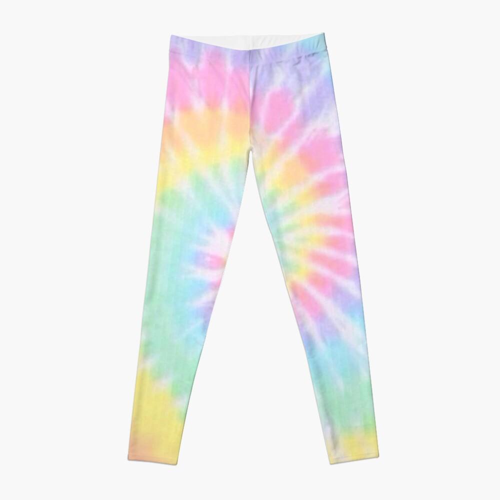 Rainbow tie dye Leggings
