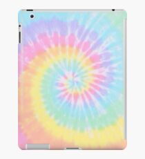 Rainbow tie dye iPad Case/Skin