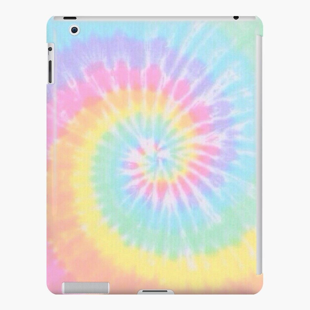 Rainbow tie dye iPad Case & Skin