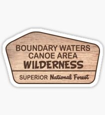 Boundary Waters Canoe Area Wilderness, Superior National Forest,  Sticker