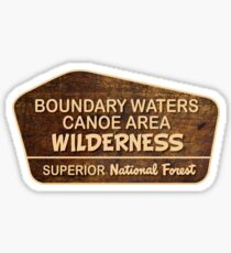 Boundary Waters Canoe Area Wilderness, Superior National Forest Sticker